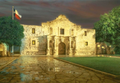 The Alamo - 500pc Jigsaw Puzzle By Sunsout