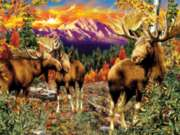 Mountain Glade - 500pc Jigsaw Puzzle By Sunsout