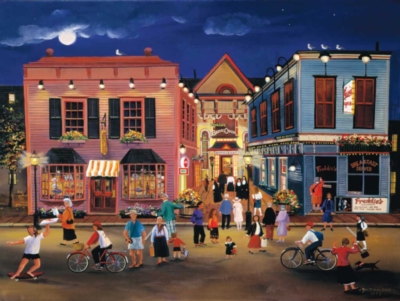 Tourist Town - 500pc Jigsaw Puzzle By Sunsout