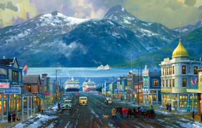 Alaska Skagway - 550pc Jigsaw Puzzle By Sunsout