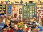 Who Left the Door Open? - 1000pc Jigsaw Puzzle By Sunsout