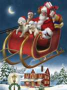 Santa's Special Delivery - 1000pc Jigsaw Puzzle By Sunsout