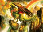 Rainbow Dragon - 550pc Jigsaw Puzzle By Sunsout