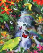 Jigsaw Puzzles - Rainbow Rainforest