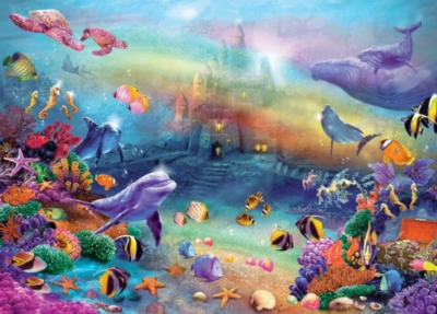 Jigsaw Puzzles - Fantasy Sandcastle