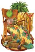 On the Rocker - 1000pc Shaped Jigsaw Puzzle By Sunsout