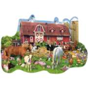 Shaped Jigsaw Puzzles - Summer Barn