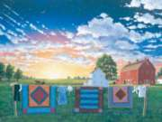 Amish Quiltscape - 500pc Jigsaw Puzzle By Sunsout