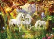 Magical Unicorn Forest - 1500pc Spring Jigsaw Puzzle By Sunsout