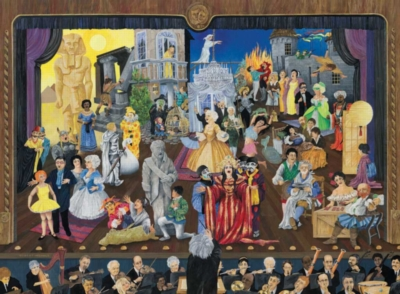 In the Spotlight: 27 operas - 1000pc Jigsaw Puzzle By Sunsout