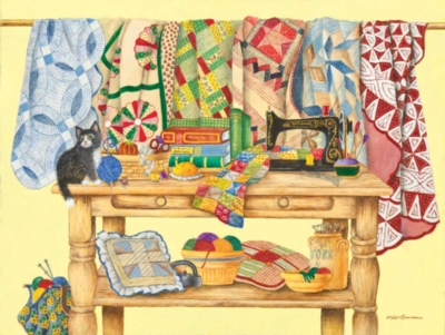 Jigsaw Puzzles - The Quilting Table