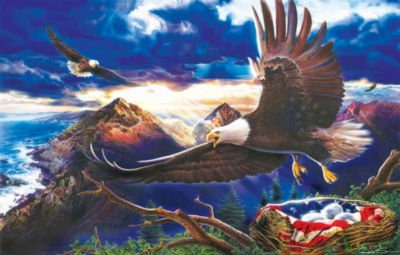 Birthright of Freedom - 1000pc Jigsaw Puzzle By Sunsout