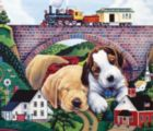 Choo Choo Chooed Out - 200pc Jigsaw Puzzle By Sunsout