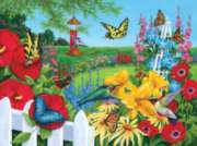 Birds n Blooms - 1000pc Jigsaw Puzzle By Sunsout