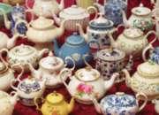 Cobble Hill Jigsaw Puzzles - Teapots