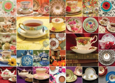 Cobble Hill Jigsaw Puzzles - China Collage
