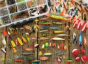 Cobble Hill Jigsaw Puzzles - Fishing Lures