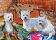 Cobble Hill Jigsaw Puzzles - Quilted Westies