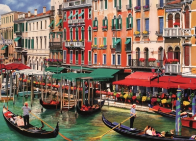 Venice in the Summer - 1000pc Jigsaw Puzzle By Cobble Hill