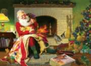 Santa's Favorite Quilt - 1000pc Jigsaw Puzzle By Cobble Hill