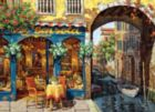 Caf� on the Canal - 1000pc Jigsaw Puzzle By Cobble Hill