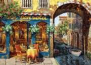 Caf on the Canal - 1000pc Jigsaw Puzzle By Cobble Hill