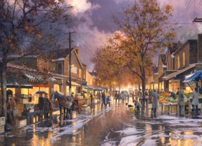 Kensington Market - 1000pc Jigsaw Puzzle By Cobble Hill