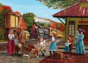 Cobble Hill Jigsaw Puzzles - Waiting for the Train