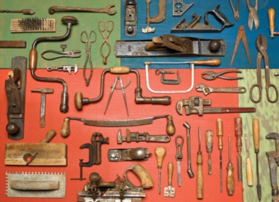 Cobble Hill Jigsaw Puzzles - Vintage Tools