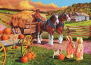 Hay Wagon - 275pc Large Format Jigsaw Puzzle By Cobble Hill