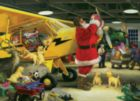 Santa's Hangar - 400pc Family Style Jigsaw Puzzle By Cobble Hill