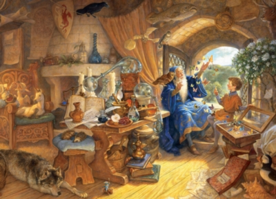 Merlin and Arthur - 400pc Family Style Jigsaw Puzzle By Cobble Hill