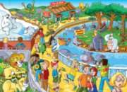 Find the Difference: A Trip to the Zoo - 60pc Jigsaw Puzzle By Cobble Hill