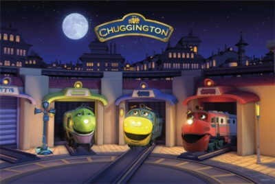 Floor Jigsaw Puzzles For Kids - Chuggington Bedtime