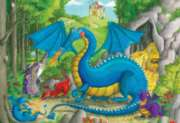 Floor Jigsaw Puzzles For Kids - Dragon Nursery