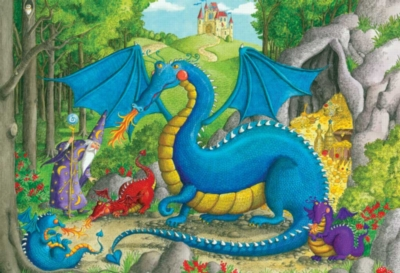 Dragon Nursery - 24pc Floor Puzzle By Ravensburger