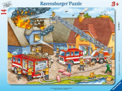 Jigsaw Puzzles for Kids - Fighting Fire