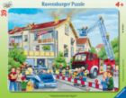 Firemen to the Rescue - 39pc Frame Puzzle By Ravensburger