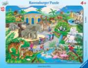 Visit to the Zoo - 45pc Frame Puzzle By Ravensburger