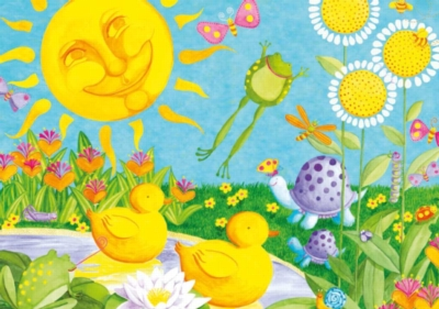 Jigsaw Puzzles for Kids - Merry Meadow