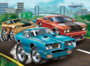 Jigsaw Puzzles for Kids - Muscle Cars