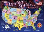 State Map - 100pc Jigsaw Puzzle By Ravensburger