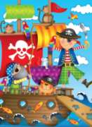 Pirate Adventure - 100pc Jigsaw Puzzle By Ravensburger