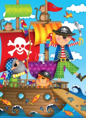 Jigsaw Puzzles for Kids - Pirate Adventure