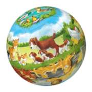 Puzzleball - Animals & Their Babies
