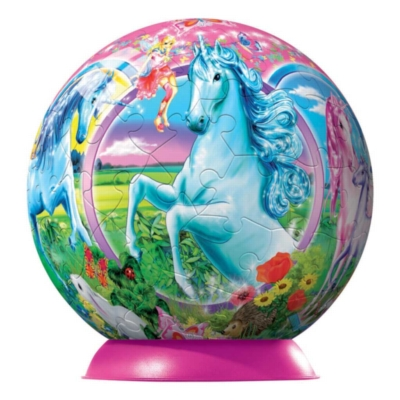 Unicorns - 108pc Puzzleball By Ravensburger