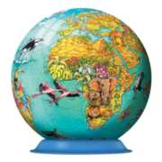 Puzzleball - Children's World Map
