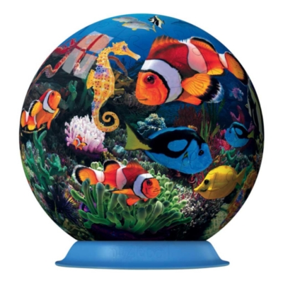 Ocean World of Colors - 108pc Puzzleball By Ravensburger