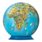 Illustrated World Map - 270pc Puzzleball By Ravensburger
