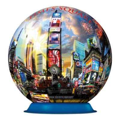 Times Square NYC - 270pc Puzzleball By Ravensburger